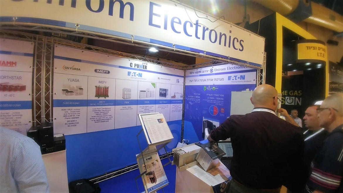 IMEFY Italy at Electricity 2018 - Eilat