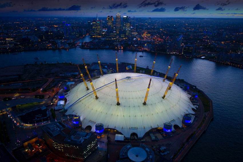 The O2 Arena - London, UK